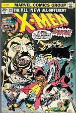 X-MEN #94 1975 MARVEL -NEW X-MEN- CLAREMONT/WEIN-s/COCKRUM-a...VF+