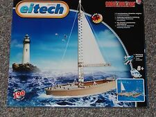 Eitech Boat Metal Construction Building Set Toy C20 Sail Boat