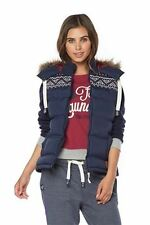 Faux Fur Patternless Gilet Casual Coats & Jackets for Women