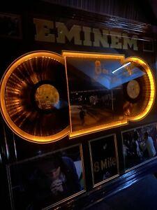 Eminem Signed Light Up Display With Aftal COA
