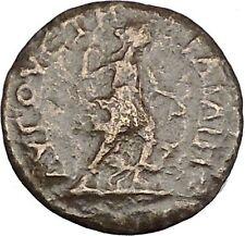 Geta Augusta Traiana in Trace Rare Ancient Roman Coin Artemis Diana Hound i48377
