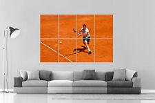 Rafael Nadal Tennis Poster A0 Large Print