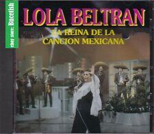 Lola Beltran La Reina de La Cancion Mexicana CD New Nuevo sealed
