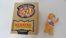 Bad Taste Bears Vic UNION JACK UK FLAG OVP firmato da Pete Underhill 83