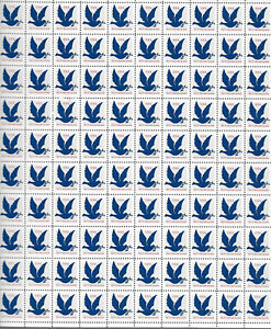 SCOTT #2877  DOVE  WITH  OLIVE  BRANCH  3 CENT  SHEET   MNH