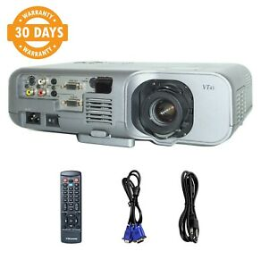 NEC VT45 3LCD Projector Portable HD 1080i Remote TeKswamp Included