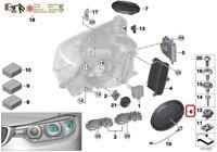 BMW NEW GENUINE F32 F33 F36 F15 F16 HEAD LIGHT LAMP CAP DUST COVER 7379845