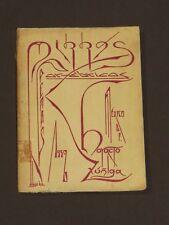 Mirras Poemas Orfebricos México 1931 Horacio Zuñiga Avant Garde Mexican Poetry