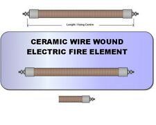Ceramic wire wound pencil element Fireplace Electric Fire bar Selco Heater Bar