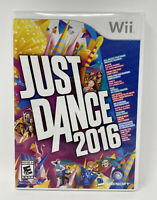 Just Dance 2016 (Nintendo Wii, 2015) Complete Tested Working