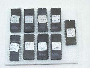 Lot de 9 puce PICS BORNE JEU ARCADE M5L2764K MBM2764 HN482764G Vintage programme