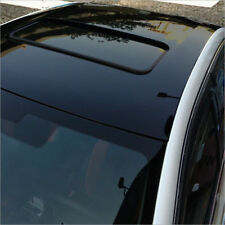 Gloss Roof Black Out Vinyl Car Wrap Film Sticker Sunroof Protective Vinyl PVC US