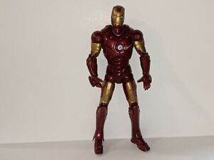 """IRON MAN The Movie Hasbro 2008 6"""" Action Figure Marvel Legends Articulated"""