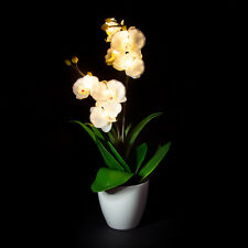 LED Artificial Flower - white orchid