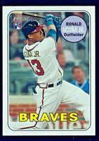 Ronald Acuna Jr. 2018 Topps Heritage High # 580 Action Variation RC SP