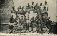 CARTE POSTALE / AFRIQUE AQUATORIALE FRANCAISE JEUNES CHRETIENNES DU NYASSA