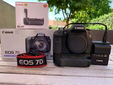 Canon EOS 7D 18.0MP Digital SLR Camera - With Battery Grip BG-E7. (Body only!)