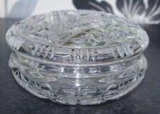 Bowl Antique Original Cut Glass Date-Lined Glass