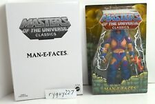 MOTUC, Man-E-Faces, Masters of the Universe Classics, MOC, figure, sealed, MISB