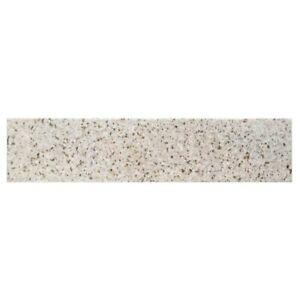 Bestview 4-in H x 20.5-in L Desert Gold Granite Bathroom Side Splash