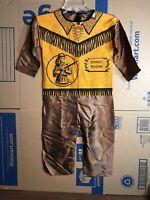 Rare Vintage Daniel Boone BEN COOPER HALLOWEEN COSTUME SUIT only