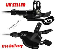 SRAM X 9 AM SL 2 Speed Trigger Shifter With Clamp For Front Derailleur