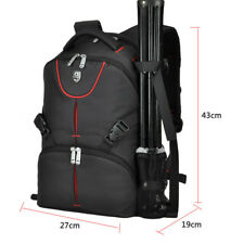 DSRL Large Camera Backpack Bag Waterproof Canon Nikon Sony Tripod & Flash Bag