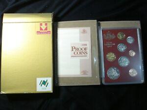 Australian 1988 Proof Coins Proof Set IN RAM Box COA 1 2 5 10 20 50 Cents $1 $2