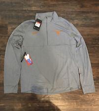 Nike Texas Longhorns Grey Long Sleeve Jacket with Zip SIZE LARGE $70