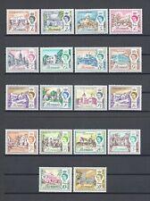 BERMUDA 1962-68 SG 163/79 MNH Cat £40