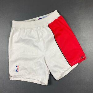100% Authentic 95 96 Atlanta Hawks Champion Pro Cut Shorts Size 36 M L Mens