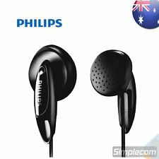 PHILIPS SHE1350 Headphone Earphones for Walkman MP3 Apple iPod iPhone Black