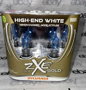 Sylvania Silverstar ZXE Gold 9005  Two Bulbs Head Light High Beam Upgrade New