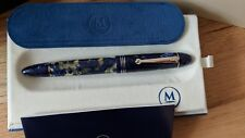 MOLTENI PEN MODELO 55 ROYAL BLUE LUCENS LT ED FOUNTAIN PEN