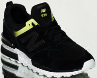 New Balance Wmns 574 Sport NB women lifestyle sneakers NEW black yellow WS574-RD