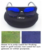 E-1 A99 Golf Ball Finder Glasses black Frame - Only Used in Golf Course