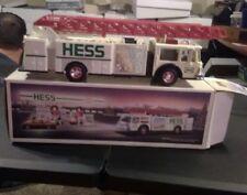 VINTAGE 1989 HESS TOY FIRE TRUCK. needs batterys