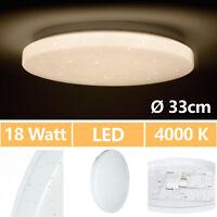 LED Deckenleuchte Deckenlampe Küchenlampe 18W Abstellraum Treppenhaus