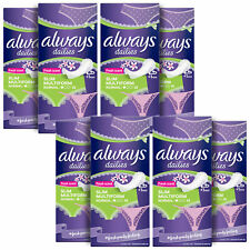 Always Dailies Slim Multiform Normal Liners, Fresh Scent, 26 Liners, 8 Pack