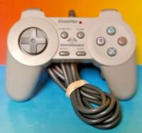 Game PAD Performance P-103E  PS1 Controller Wired Playstation 1 Tested Works