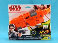Star Wars Nerf Glowstrike Poe Dameron Blaster w/ Lights and Sounds New