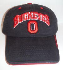 hot sale online 1c964 74657 Ohio STATE BUCKEYES NCAA STRAP BACK HAT PRE SHAPED BRIM CAP NEW