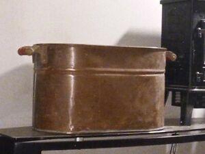 (Solid Copper) Boiler Pot/ Paul Revere early 1900s