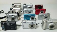 TESTED Lot of 12 Wholesale Digital Cameras USED Olympus Canon Samsung *GOOD*