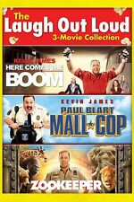 Laugh Out Loud 3-Movie Here Comes the Boom/Paul Blart Mall Cop/Zookeeper .free s