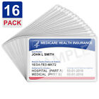 Medicare Card Holder Protector Sleeves Clear PVC For Credit Card Business Card