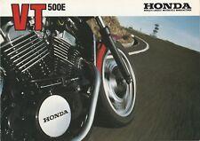 Honda VT500E Brochure - c.1984
