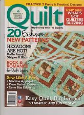 Quilt Magazine FEB/MAR 2013, Step By Step With The Experts.