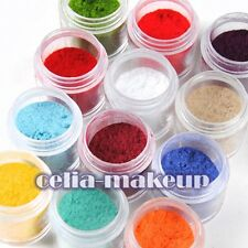 12 Color Jumbo size Velvet Flocking Powder Velvet Nails Art Polish Tips