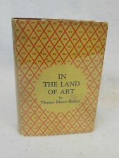 Ibanez  IN THE LAND OF ART  E.P. Dutton & Co  Second printing, 1928 HC/DJ